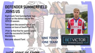 Summerfield and Hartley Join the Blues