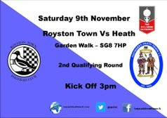 Next Match - Buildbase FA Trophy - Royston Town