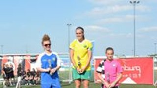 PARKWOOD LADIES PLAYED IN A INTERNATIONAL TOURNAMENT CUP FINAL