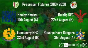 Wild Geese Release Preseason Fixtures