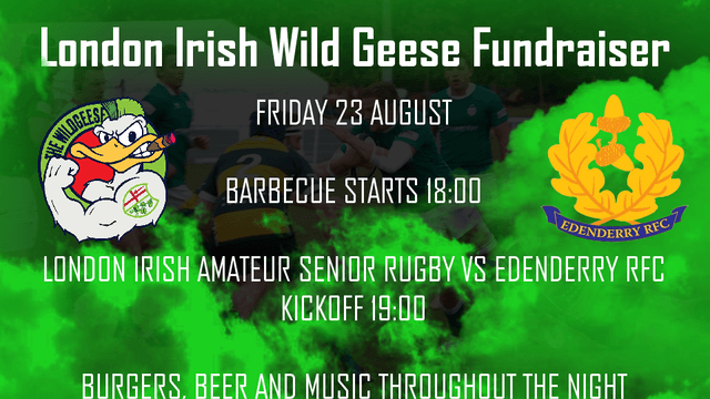 Save the Date: Wild Geese Fundraiser 23rd August