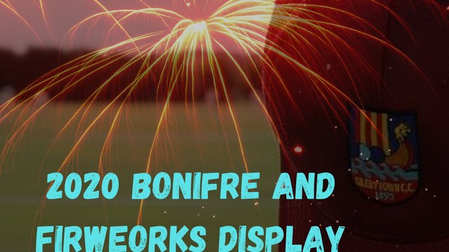 Bonfire and Fireworks Display Cancelled for 2020