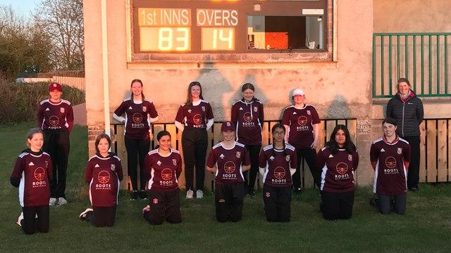 Under 15 Girls off to a winning start