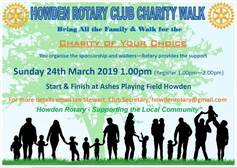 Howden Rotary Club Charity Walk