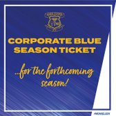 2020/21 CORPORATE BLUE SEASON TICKET