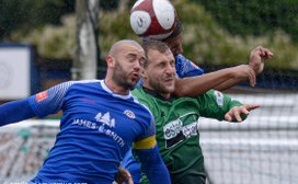 BLUES SHARES SPOILS WITH SUTTON