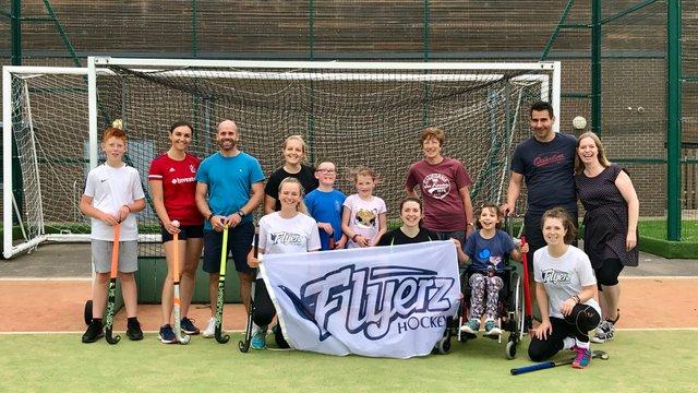 KHC Hosts Flyerz Hockey Session!