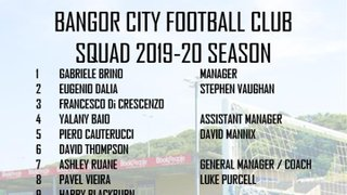 2019/20 SQUAD NUMBERS CONFIRMED