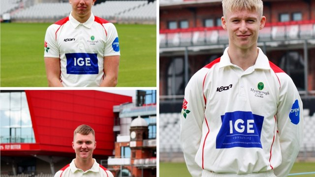 Trio of students selected for Lancashire's Academy