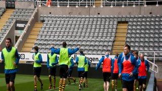 Morpeth Town AFC v Blyth Spartans - 27th April 2015