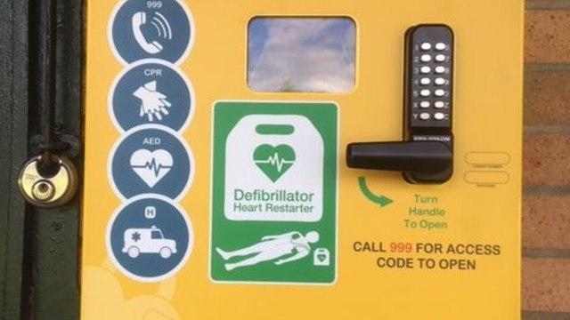 Community Defibrilator Install