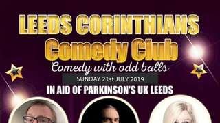 Comedy club charity night