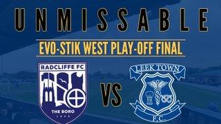 Radcliffe vs Leek Town: Evo-Stik West play-off Final - Preview