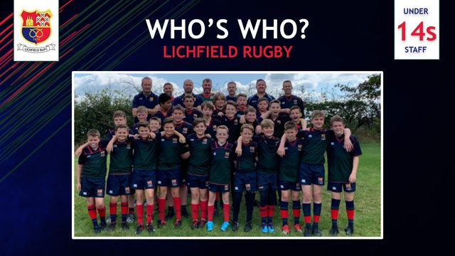 Who's Who at Lichfield Rugby Club - U14's