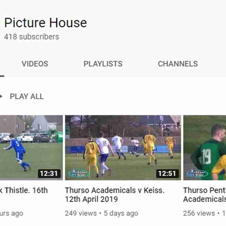 Match photos and Youtube videos