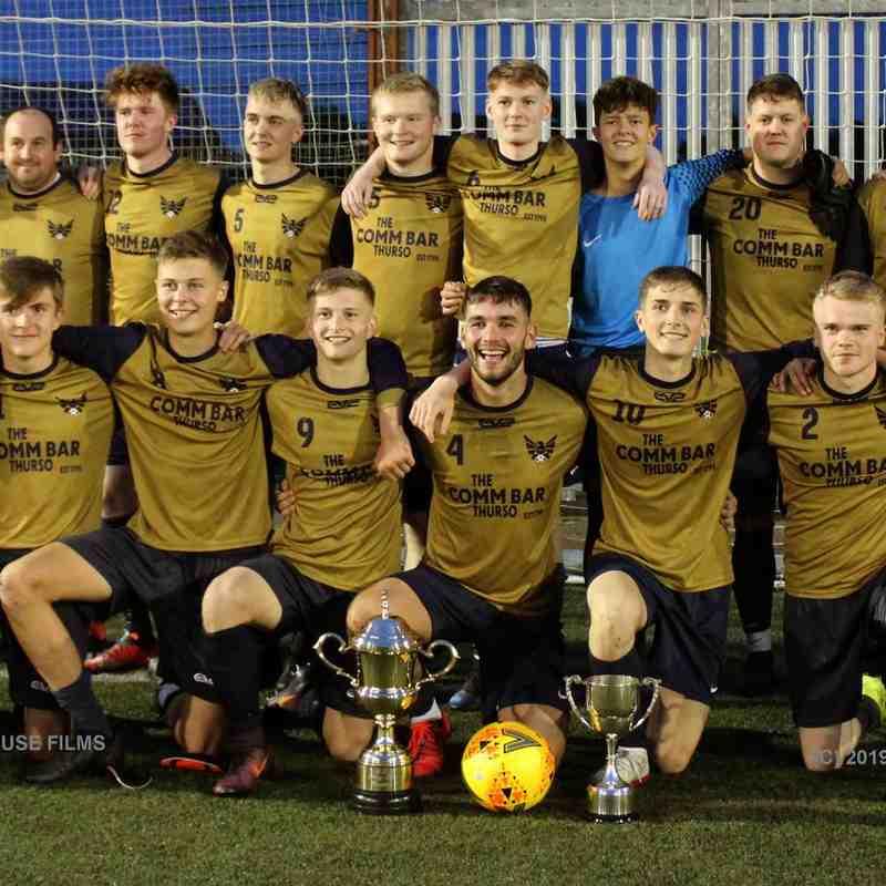 High Ormlie Hotspur - CAFA Div.1 play off winners