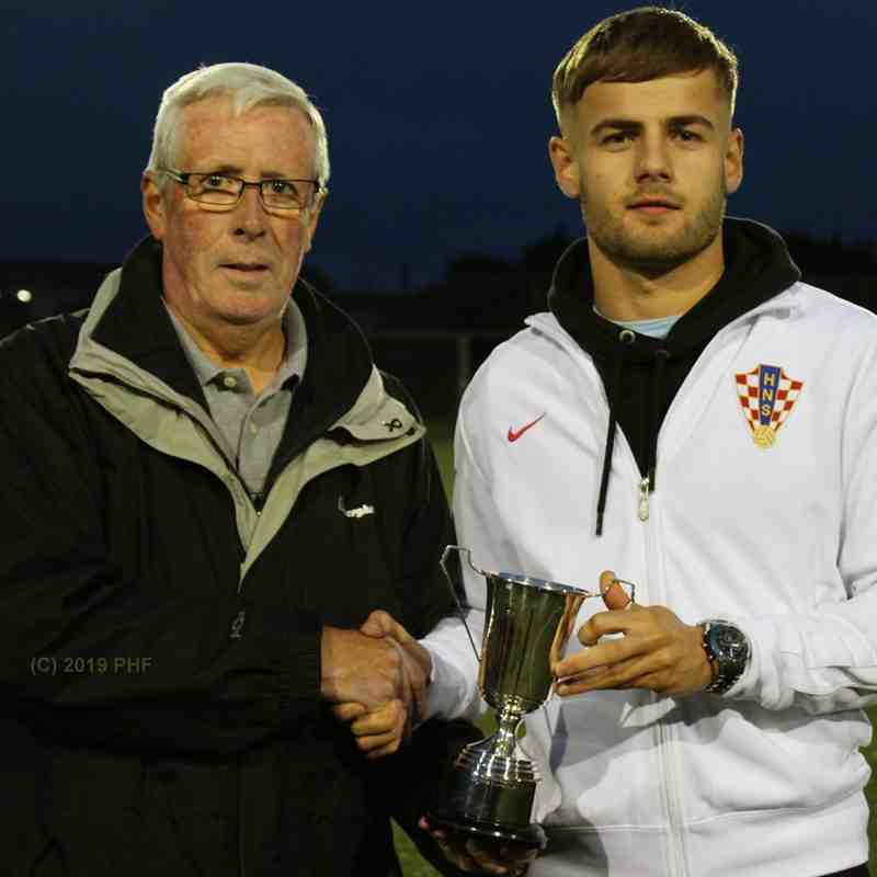 Jonah Martens - CAFA Div.1 player of the year