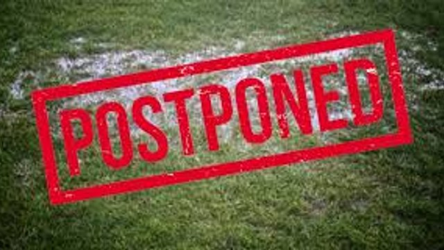 Training CANCELLED this Wednesday 23rd Sept