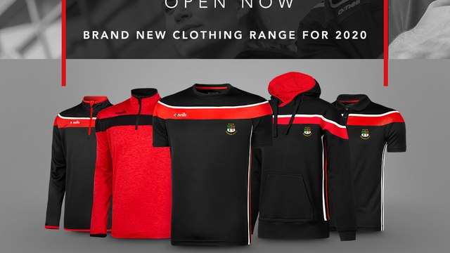 Myton Warriors Launch Oneills Online Club Shop