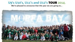 Tour 2014 - U9's U10's U11's and U12's