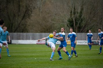 Ryan Horne in action against Brentwood Town