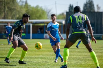 Ryan Jolland in action vs Grays Athletic