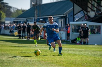 Ryan Horne in action vs Grays Athletic