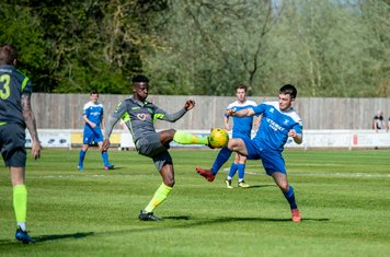 Tanner Call in action vs Grays Athletic