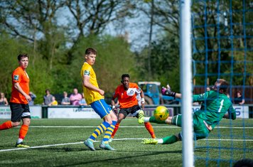 Emmanuael Machaya puts Bury ahead at Sudbury