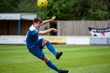 Charlie Cook in action against Heybridge Swifts