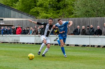 Ryan Jolland in action against Heybridge Swifts