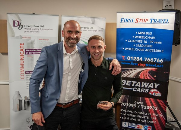 Ryan Horne - First Team Managers Player of the Season