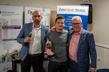 Ollie Hughes - First Team Supporters Player of the Season