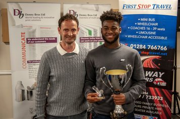 Amin Mohammed - Young Player of the Season