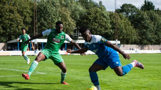 Action from opening day win over Basildon United