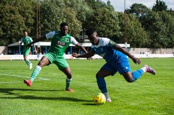 Cruise Nyadzayo in action against Basildon