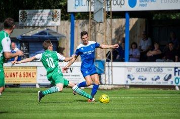 Ryan Jolland in action against Basildon