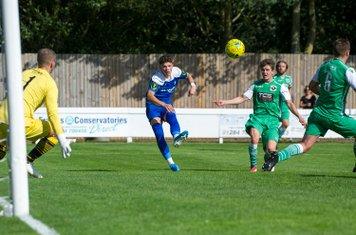 Ross Crane in action against Basildon