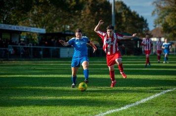 Ollie Hughes goes forward