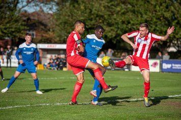 Colin Oppong in action