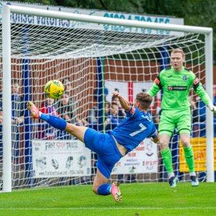 Bury Town take their first league win of the season against Hulbridge Sports