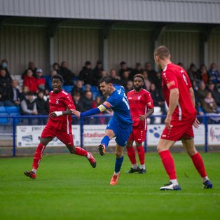 Bury Town take another win after seven goal thriller