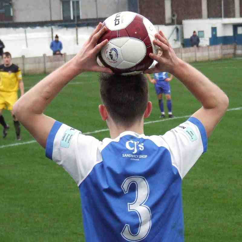 Clitheroe 1-2 Pontefract Collieries 01-02-20