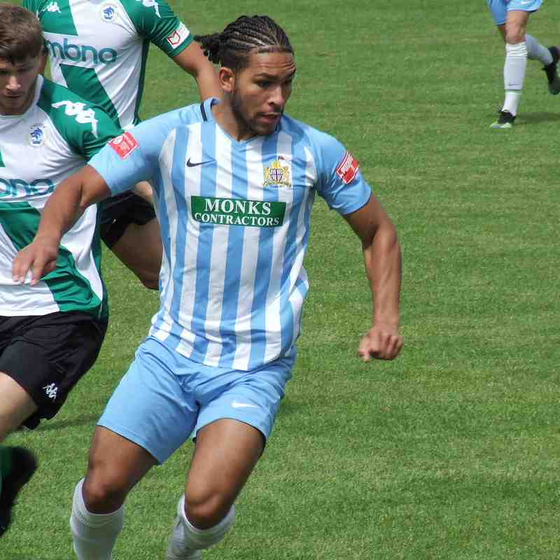 Clitheroe 0-1 Chester 11/7/21 (Friendly)