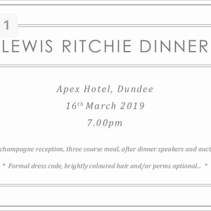 Lewis Ritchie Dinner
