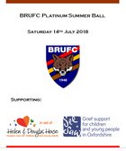 BRUFC Platinum Ball Auction (non-attendees can bid…!) and Raffle