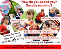Bicester RUFC Youth Open Day