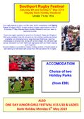 SOUTHPORT RUGBY FESTIVALS