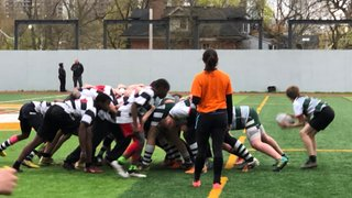 Highland U15 boys versus MRA May 10th