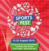 Come & see us at Coventry Sports Festival